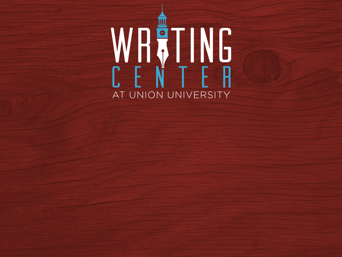 The Writing Center  Academics  Union University A Christian  Writing Center At Union