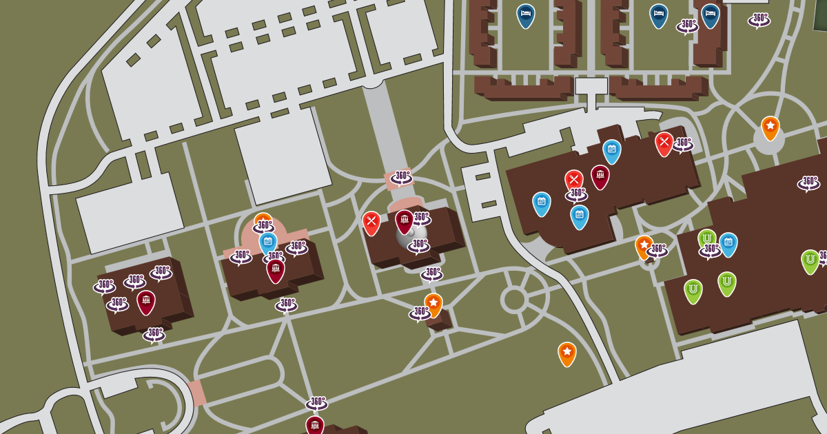 Jackson College Campus Map.Jackson Campus Map Union University