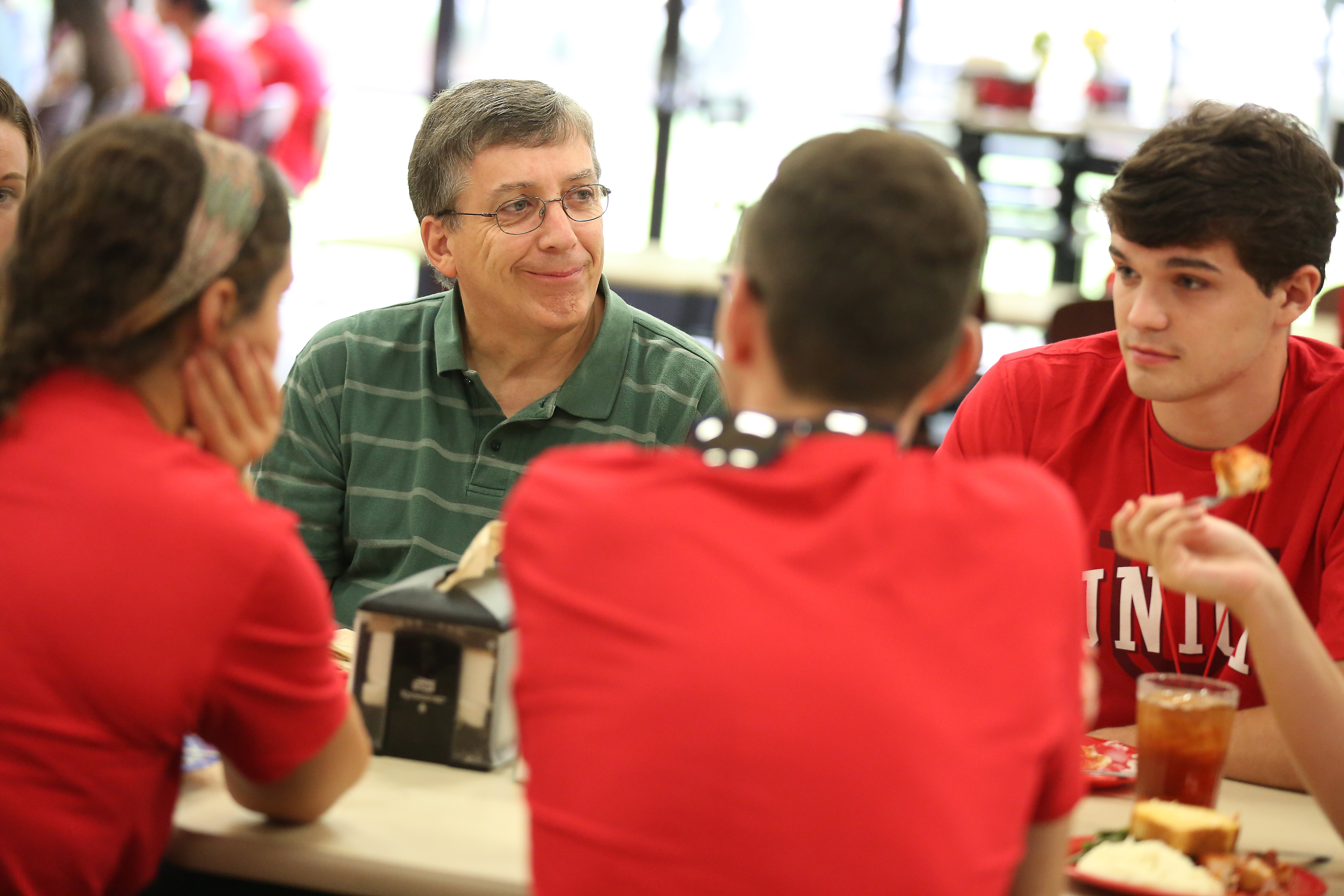 Randy Johnston university professor of chemistry and department chair talks to a group of new chemistry majors at the Dinner with your Department event ...  sc 1 st  Union University & Randy F. Johnston Photo Album | The Union Photo Project | Union ...