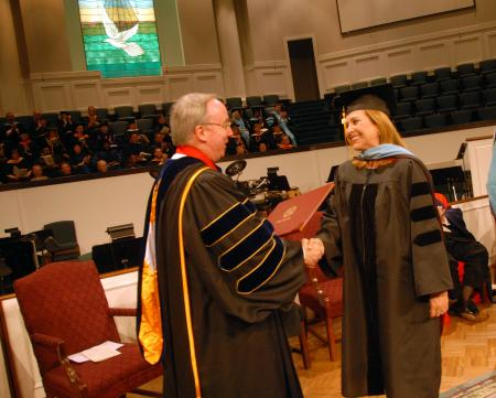 Doctor of education degree