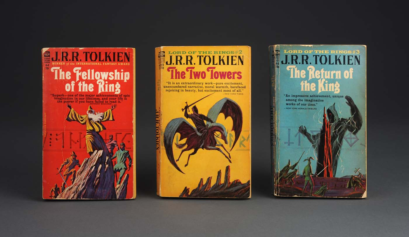 Lord Of The Rings Book First Edition