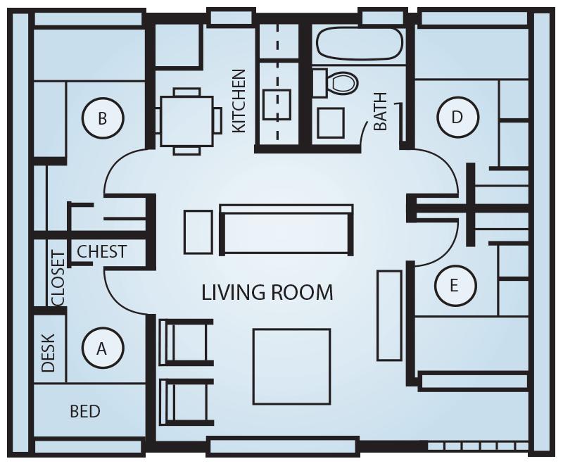 heritage housing options residence life student life union